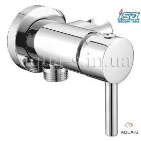 Смеситель душевой внутренний ISA 66430 для гигиенической лейки на биде
