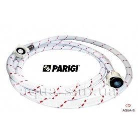 """Шланг в нейлоновой оплетке для стиральной машины 3/4x3/4"""" 2500 мм Parigi Nylonflex"""