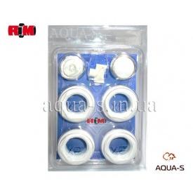 """Комплект футорок універсальний для підключення алюмінієвого/біметалічного радіатора 1""""x3/4"""" RM"""