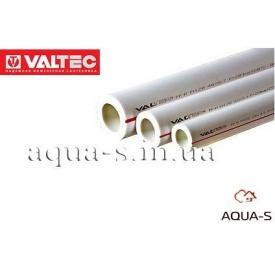 Труба для водопостачання Valtec PPR PN 20 40 мм біла