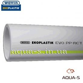 Труба для водоснабжения пластиковая EkoPlastik EVO PP-RCT DN 20