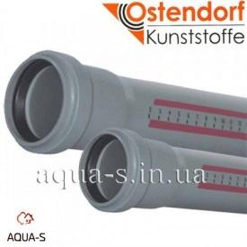 Труба для внутрішньої каналізації PP Ostendorf HT 32х150 мм
