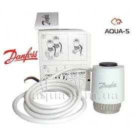 Привід електротермічний нормально відкритий 24V для балансувальних клапанів Danfoss TWA-Z