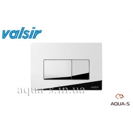 Панель смыва механическая Valsir P1 Tropea 3 хром 3/6 л
