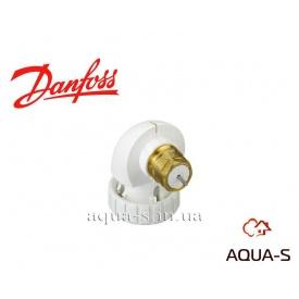 Кутовий адаптер Danfoss для термостатичних елементів підключається до клапану