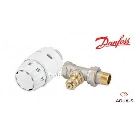 Радиаторный термостатический комплект Danfoss RAS-C2 1/2'' прямой 013G5142