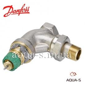 Клапан динамический радиаторный термостатический угловой Danfoss RA-DV DN 15 013G7713