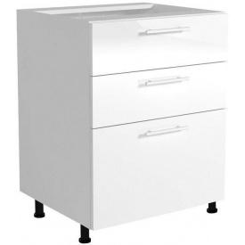 Нижний шкаф модульный Halmar Vento D3S-80/82 Белый