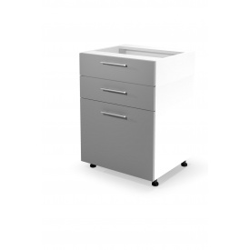 Нижний шкаф модульный Halmar Vento D3S-80/82 Светло-серый