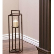 Підлоговий свічник у стилі LOFT (Lamp-19)