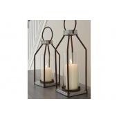 Настільний свічник у стилі LOFT (Lamp-64)