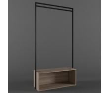Стійка-вішак для одягу в стилі LOFT (Hanger - 07)