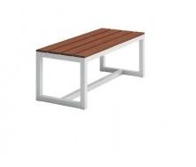 Обеденная скамейка в стиле LOFT 2000х450х450 (Bench - 12)