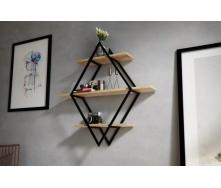 Навісна полиця в стилі LOFT (Wall Shelf-23)