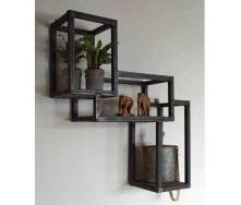 Навісна полиця в стилі LOFT (Wall Shelf-26)