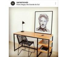Письмовий стіл в стилі LOFT (Office Table-013)