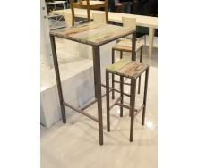 Барний стіл в стилі LOFT (Bar Table-08)