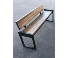 Лавочка парковая в стиле LOFT (Street Bench - 18)