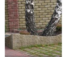 Столбик декоративный Золотой Мандарин 250х100х80 мм горчичный