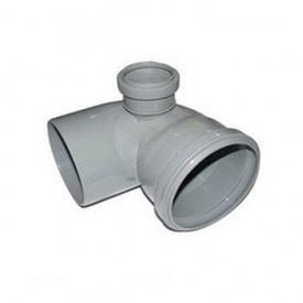Уголок канализационный колено 110х50 мм 90° левый