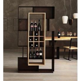Стелаж для вина у стилі LOFT (Rack-076)