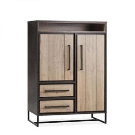 Шкаф для хранения в стиле LOFT (Rack-318)