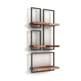 Набор настенных полок в стиле LOFT (Wall Shelf-40)