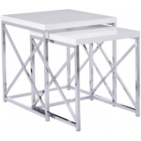 Комплект журнальних столиків в стилі LOFT (Table - 480)