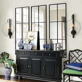 Комплект зеркал в стиле LOFT (Mirror-05)