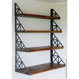 Набор настенных полок в стиле LOFT (Wall Shelf-47)