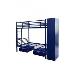 Ліжко в стилі LOFT (Bed-104)