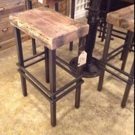 Барний стілець в стилі LOFT (Bar Stool - 15)