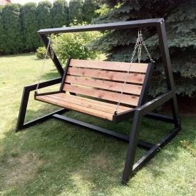 Кресло-качалка в стиле LOFT (Sofa-14)