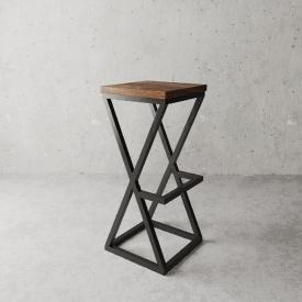 Барний стілець в стилі LOFT (Bar Stool-53)