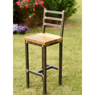 Барный стул в стиле LOFT (Bar Stool - 09)