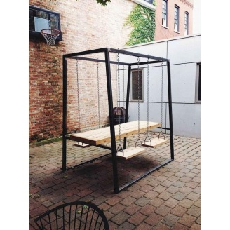 Садовый стол в стиле LOFT (Garden Table-11)