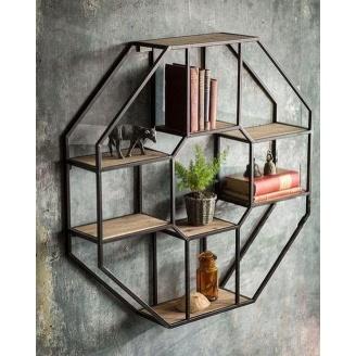 Настінна полиця в стилі LOFT (Wall Shelf-22)