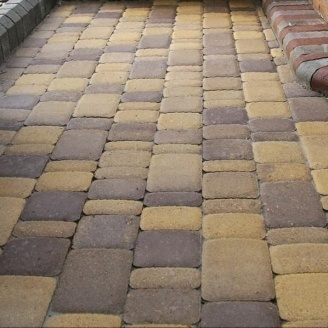 Тротуарная плитка Золотой Мандарин Старый город 120х40 мм генуя