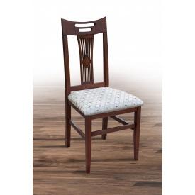 Деревянный стул Юля Феникс Микс-Укр 960х410х450 мм темный орех однотонная ткань Bari56