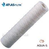 """Картридж для колби фільтра Atlas FA 10"""" SX 1 mcr з поліпропіленової нитки 45°С Atlas"""
