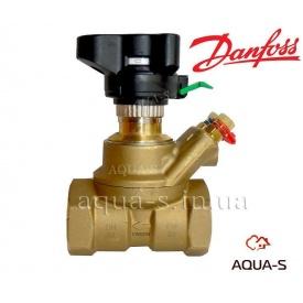 Клапан балансировочный ручной для систем отопления DANFOSS MSV-ВD Ду 20 003Z4002