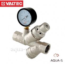 """Клапан VALTEC подпиточный с фильтром механической очистки 1/2"""" VT.515.N"""