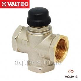 """Трехходовой термостатистический смесительный клапан VALTEC 1"""" VT.MR02.N"""