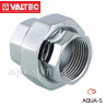 Фітинг різьбовий VTr.340.C муфта роз'ємна хромована VALTEC 1/2