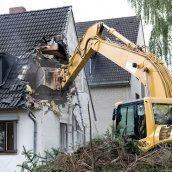 Демонтаж стін будівель
