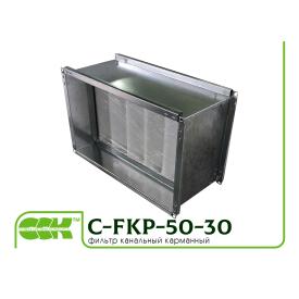 Воздушный фильтр для канальной вентиляции C-FKP-50-30-G4-panel