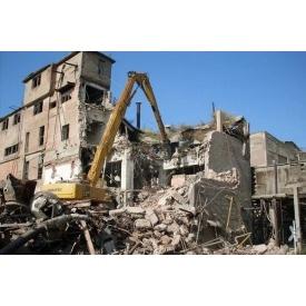 Демонтаж фундаменту приміщення