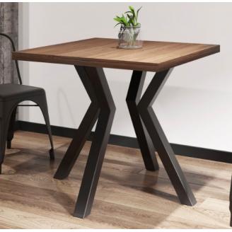 Квадратний стіл Метал-Дизайн Свен-4 800х800х750 мм
