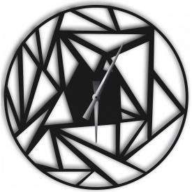 Часы настенные WallArt Detriti черные (WA_Det_0004)