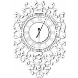Часы настенные WallArt Riccioli белые (WA_Ric_0001)